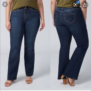Lane Bryant Tighter Tummy Boot Cut Jeans